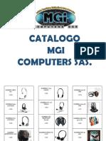 MGI catálogo