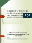 Gestión de Tecnología de La Información Para La