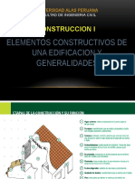 Construcción I - Generalidades