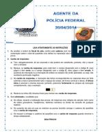 Simulado Pf Agente Comentado 20 04 2014
