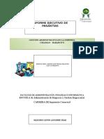 Informe Ejecutivo de Pasantias 1