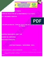 Digital Tópicos Selectos de La Matemática Ya La Física