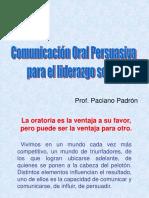 Comunicacion Oral Persuasiva
