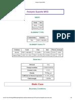 Analysis Suporte MKS