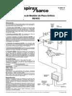 Sistema de Medidor de Placa Orificio