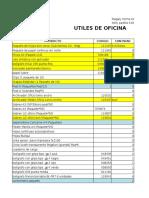 UTILES DE OFICINA.xlsx