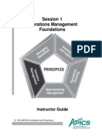 Operations Management Foundations