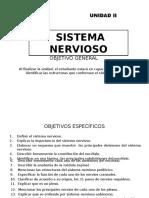 Unidad II Sistema Nervioso (1)
