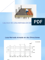 Presentación de Calculo de Losa Nervada