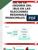 Rol de La Dp Elecciones Regionales Municipales 2014