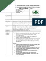 Sop Hasil Pemantauan Waktu Penyampaian Hasil Pemeriksaan Laboratorium Untuk Pasien Urgen