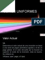 Series Uniformes
