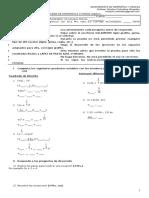 03 Prueba de Matematica 1ºmedio Algebra