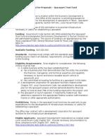 Spaceport Trust ewFund RFP FY2014EWFsew