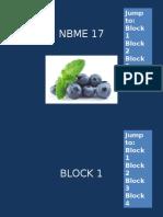 NBME 17 BLOCK 1-4 (No Answers).pptx
