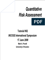 Tutorial 415, Quantitative Risk Assessment - Powellprnta