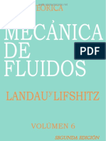 Curso de Fisica Teorica - Vol 6 - Mecanica de Fluidos