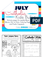 July 2016 Catholic Kids Bulletin