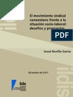 El Movimiento Sindical Venezolano Frente a La Situación Sociolaboral. Desafíos y Propuestas