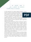 """Análisis del estudio para el desarrollo y gestión del producto turístico """"MICE"""""""