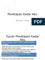 Analisa Kadar Air-2
