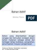 Bahan Aditif
