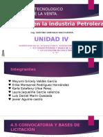 UNIDAD 4 legislacion petrolera