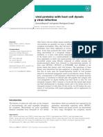 Asociacion de Proteinas Virales Con Una Celula de Componentes Dineina Huesped Durante La Infeccion Del Virus