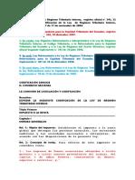 Ley Orgánica de Régimen Tributario Reformada Al 23 de Diciembre 2009