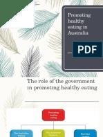 promoting healthy eating website copy