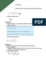 MATERI Ukuran Pemusatan Data