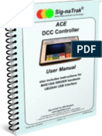Sig-naTrak® ACE DCC Controller User Manual