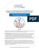 Influence of Trans-Operative Complications On