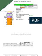 Analisis y Calculo de Losa Nervada 20x40x40 Cm