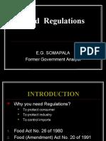 Food Regulations2012