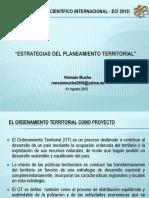 Ordenamiento Territorial en ECI 2012i, 01 Agosto 2012