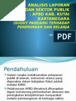Analisis Laporan Keuangan Sektor Publik Kukar.pptx