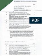 domain e student teaching assessment - tk