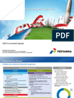 Pertamina 3Q2015 Highlight - Web