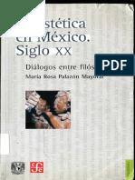 Maria Mayoral - La Estetica en México Siglo XX