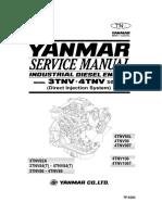 Yanmar 4JH3 Overhaul & Service Manual