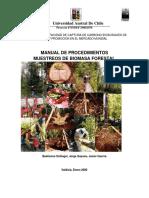 Muestreo de Biomasa Forestal
