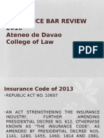 Insurance Law Review 2016. Day 1