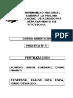 informe fertilizacion