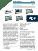 Anritsu SiteMaster S100C, S200C, S300D, S800D Series