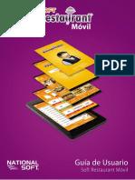 Manual de Usuario Soft Restaurant Móvil.v.1.0.20150921