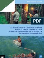 La integración de los vínculos entre pobreza y medio ambiente en la planificación nacional de desarrollo