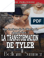Bellann Summer-The Men of the Crazy Angle Ranch 1 -La Transformacion de Tyler