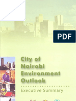 City of Nairobi - Environment Outlook