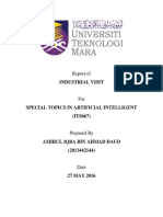 Industrial Visit Report